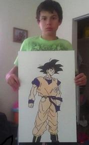 Goku by Enrique Lugo