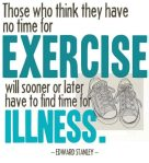 Exercise or Illness?